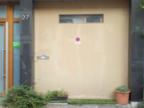 Muurschildering Streetart Voor